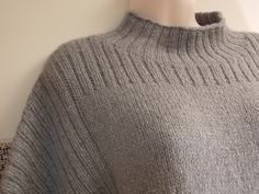 "Anne's ""Truss,"" knit in Shibui Maai and Pebble."