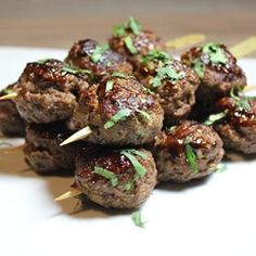 """Lemongrass Ground Beef Skewers   """"Great flavor combinations in these simple, fast, and economic kabobs."""""""