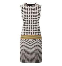 Unlimited Jacquard Spot Shift Dress £189: tinyurl.com/8yf72ut