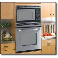 Shop GE Single Electric Wall Oven with Built-In Microwave Stainless steel at Best Buy. Find low everyday prices and buy online for delivery or in-store pick-up.