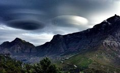 Lenticular Clouds- Southern California.
