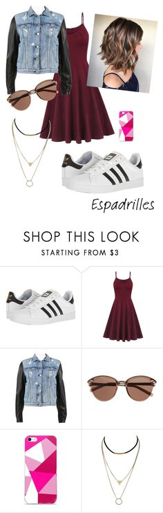 """Espadrille"" by sarah-mimi on Polyvore featuring mode, adidas, rag & bone et Witchery"