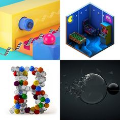 Amazing Maxon Cinema 4D techniques and tutorials to help you learn new tools, texturing, lighting, typography and more for 3D animation, modelling and rendering.