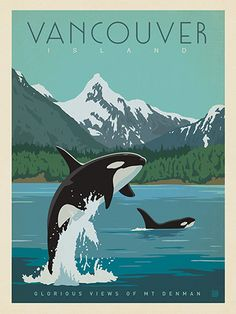 Canada: Vancouver Island Orcas - Our most adventurous series of classic travel…
