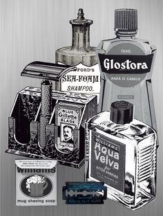 Beer Advertisement, Old Advertisements, Barber King, Vintage Diy, Barber Supplies, Vintage Medical, Shaving Soap, Cologne, Beards