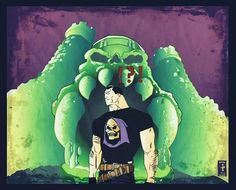 The punisher the Masters of the universe...