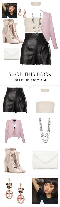 """""""Award show outfit"""" by kat-civil ❤ liked on Polyvore featuring Moschino, BCBGMAXAZRIA, Valentino, Neiman Marcus and Effy Jewelry"""