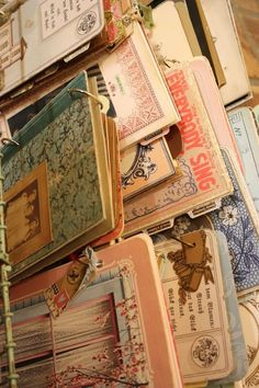 Handmade journals by sally