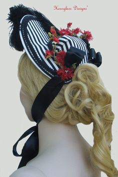 Victorian 1870's Louise Bonnet Hat Steampunk Vintage materials. $99.00, via Etsy. Who Will Buy, Bonnet Hat, Fascinators, Headgear, Steampunk, Victorian, History, Trending Outfits, Unique Jewelry