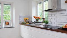 Kjøkken - Slik ble kjøkkenet lysere | Kjøkkeninnredning | Kjøkken |