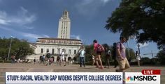 Study says blacks, Hispanics with college degrees aren't fully protected from economic crises: http://on.msnbc.com/1DYNYyi