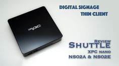 Test Shuttle XPC nano - Android Box