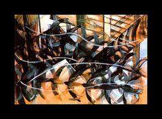 Giacomo Balla  Flight Of The Swallows,1913