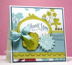 Thank you, SecretGarden, Stampin up