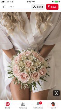 Jewelry for the bride - # for . Jewelry for the bride – # for … – bridal bouquet – - Wedding Bridesmaid Bouquets, White Wedding Bouquets, Wedding Flower Arrangements, Bride Bouquets, Flower Bouquet Wedding, Flower Bouquets, Pink Bouquet, Bouquet Of Roses, White Rose Bouquet