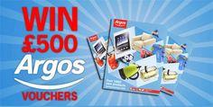 Win of Argos vouchers. Shopping Vouchers, High Street Brands, Win Prizes, Argos, Free Food, Drink, Fun, Beverage, Argo