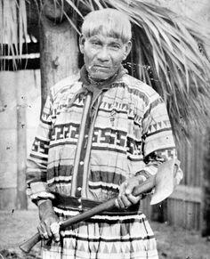 Miccosukee Indian George Osceola - Florida