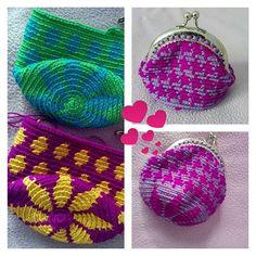 #günaydın ve #iyihaftasonları dileyerek kaçayım hemen.. #goodmorning #happyweekend #mini#wayuu #purse#cüzdan #crochet#örgüaşkı#crochetlove#tapestry #bohostyle #mor #purple #vivid #rengarenk