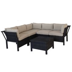Found it at AllModern - Napa 6 Piece Sectional Deep Seating Group with Cushions