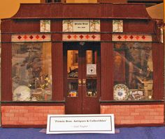 Simple Dollhouse Scale Shops House a Wide Variety of Collectible Miniatures…