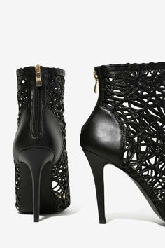 What Tangled Webs Ankle Bootie