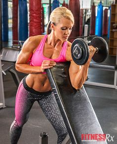Intensity Techniques: Tips for increasing calorie burn in less time from Nicole Wilkins, 3x Figure Olympia and 3x Figure International champion