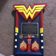 #USMC Marine Corps Plaque made for me by my amazing friend and Twin Sister, who is also a Sgt of Marines!  I would nothing without my friends and family!!! Love you guys :)