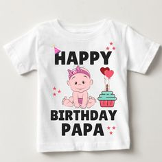 10 Best Happy birthday Papa Tshirts images | Happy birthday