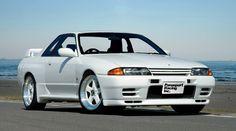 Nissan Skyline Gtr R32, R32 Skyline, R32 Gtr, Nissan 240sx, Car Illustration, Tuner Cars, Automobile, Aesthetics, Racing