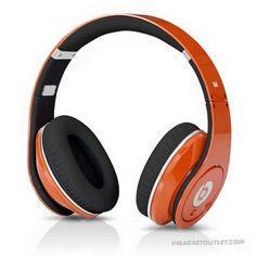 Beats by Dr Dre Studio Limited Edition Color Headphone Orange