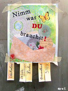 """""""Nimm was DU brauchst!"""" Flyer zum Ausdrucken; #words #love #friend #freebie #takewhatyouneed"""