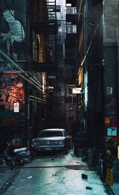 Ideas urban landscape art san francisco for 2019 Urban Photography, Night Photography, Street Photography, Urban Landscape, Landscape Art, Rpg Cyberpunk, City Vibe, City Wallpaper, City Aesthetic
