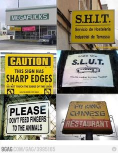 sign fails