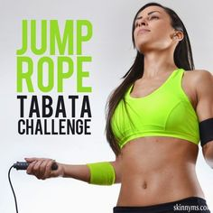 Jump Rope Tabata Challenge | Fitnessly