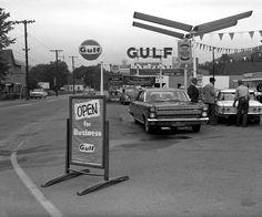 Vermont Gulf Oil Station 1967