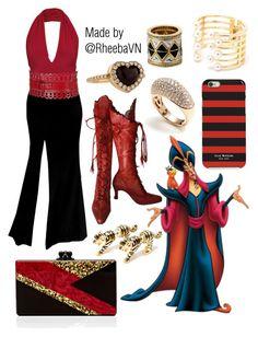 """Jafar"" by rheebavn ❤ liked on Polyvore featuring Edie Parker, Alaïa, Isaac Mizrahi, Vendoro, House of Harlow 1960 and Christian Dior"