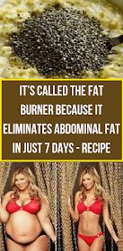 It's called the fat burner because it eliminates abdominal fat in just 7 days . It's called the fat burner because it eliminates abdominal fat in just 7 days - Recipe Herbal Remedies, Health Remedies, Natural Remedies, Herbal Cure, Health Diet, Health And Wellness, Strict Diet, Abdominal Fat, Natural Beauty Tips
