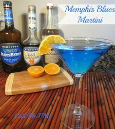 Memphis Blues Martini from the Peabody Hotel. Possible Hanukkah drink @Deborah Robinson
