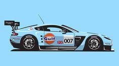 Race Cars on Behance