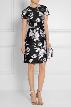 Michael Kors Collection | Jacquard mini dress | NET-A-PORTER.COM