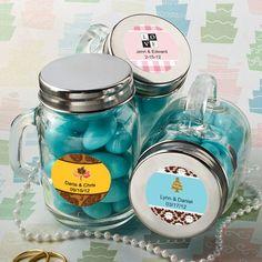 Glass Mason Jar Favors