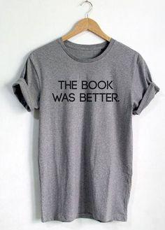 Round Neck Letter Print Grey T Shirt
