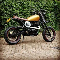 Scrambler Suzuki DR650 from The Netherlands