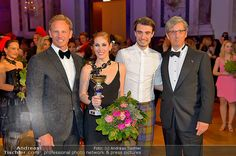 Ian ZIERING, Adriana ZARTL, Andrei CHITU, Charles SHAUGHNESSY  at The Dancer Against Cancer Ball photo ©Andreas Tischler