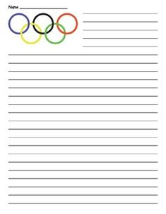 essay material on olympics Free olympics papers, essays, and research papers my account search results it will begin by deconstructing vancouver's promotional material of the games.