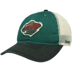 Reebok Minnesota Wild Slouch Adjustable Mesh Hat - Green/Black by Reebok. $21.95. Quality embroidery. Stitching detail on bill. Four mesh back panels. Distressed applique logos. Unstructured fit. Reebok Minnesota Wild Slouch Adjustable Mesh Hat - Green/BlackStitching detail on billOfficially licensed NHL productOne size fits mostFour mesh back panelsAdjustable plastic snap strapImportedUnstructured fitQuality embroideryDistressed applique logos55% Cotton/45% Nylon55% Cotton...