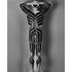 Blackwork and Dotwork custom tattoo specialists located in San Francisco, California.