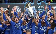 That's it #Chelsea beat Crystal Palace and win the #PremierLeague #Chelsea win another trophy. Well done lads