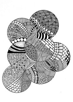 Zentangle inspiration page #127 | Flickr - Fotosharing!