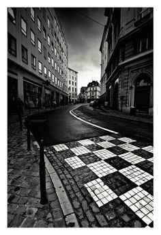 Brussels Chessboard urban photography